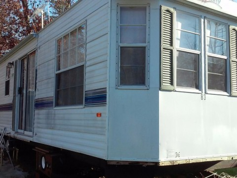 1995 Fleetwood 40′ Terry Travel Trailer Double pop out for sale