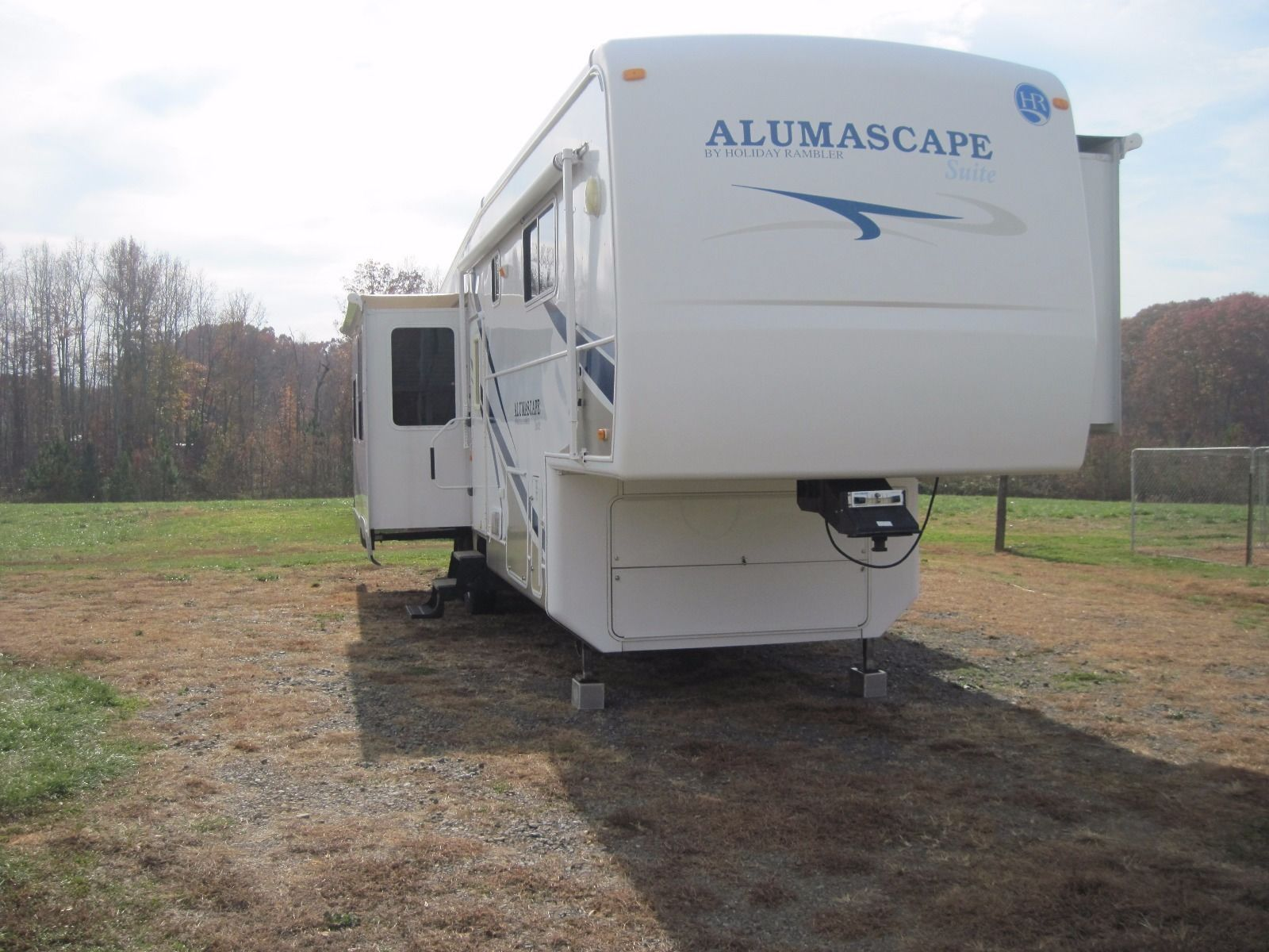 2008 Holiday Rambler Alumscape 5th Wheel Model M 33skq for sale