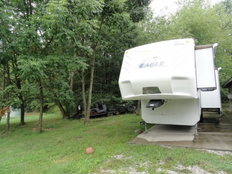 2009 Jayco Eagle 5th Wheel Model 355FBHS Deluxe Edition for sale