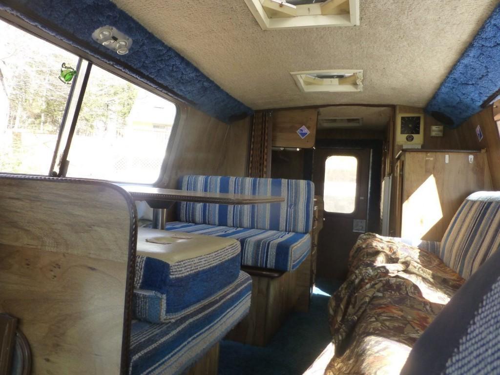 1979 Chevy Trans Van Vintage Camper