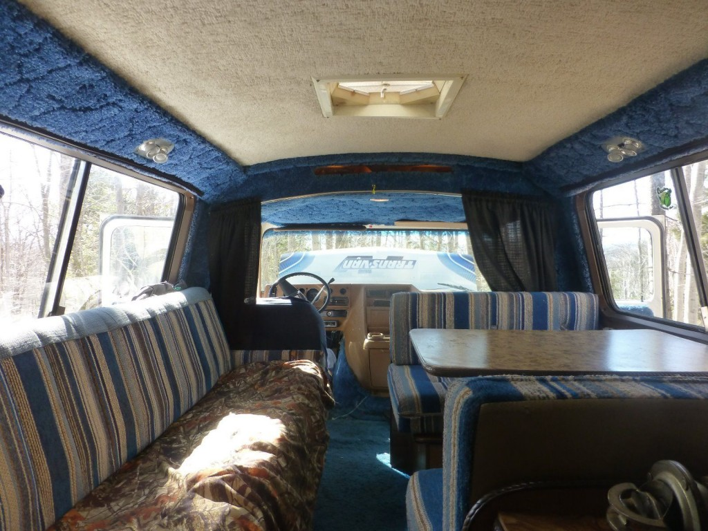 1979 Chevy Trans Van Vintage Camper Van For Sale