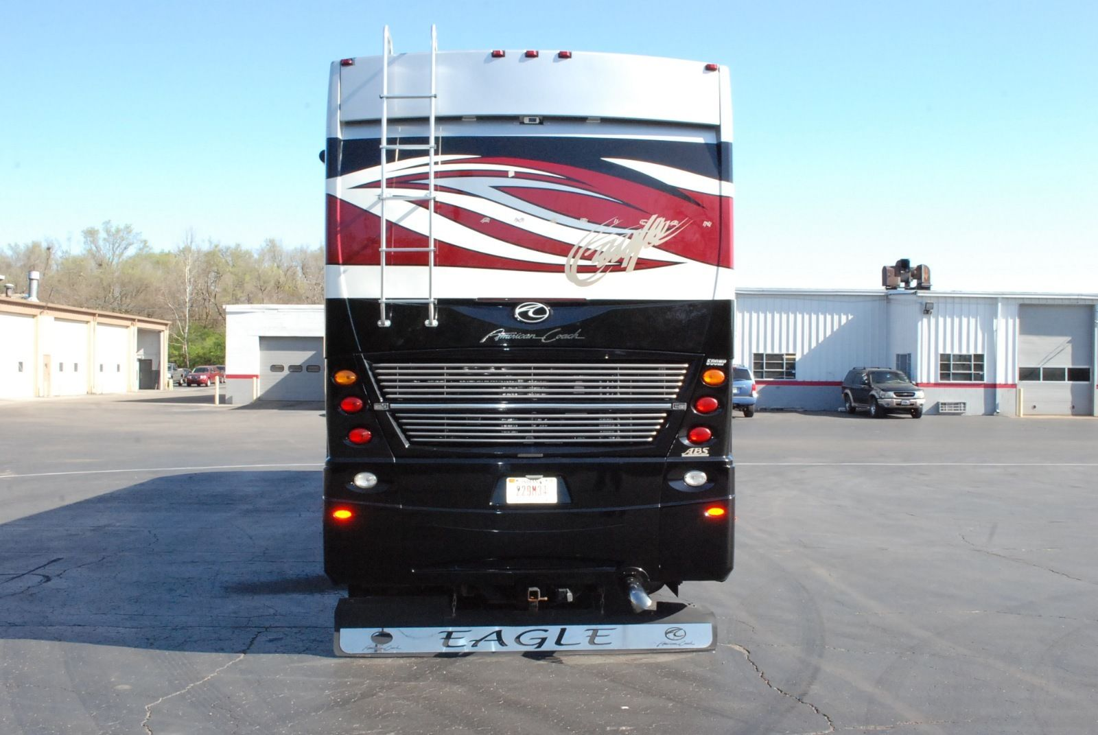 2008 45ft Fleetwood American Eagle Coach 500H cummins