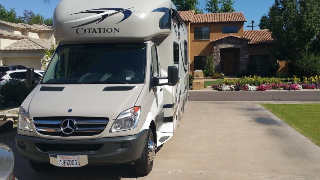2014 Mercedes Citation Diesel, Sprintster by Thor