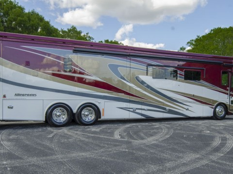 2014 Tiffin Alegro Bus 45LP Quad Slide Bath & Half 450 Cummins for sale