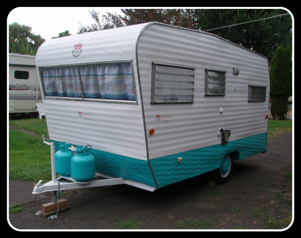 1967 kit companion 1500 vintage travel trailer for sale