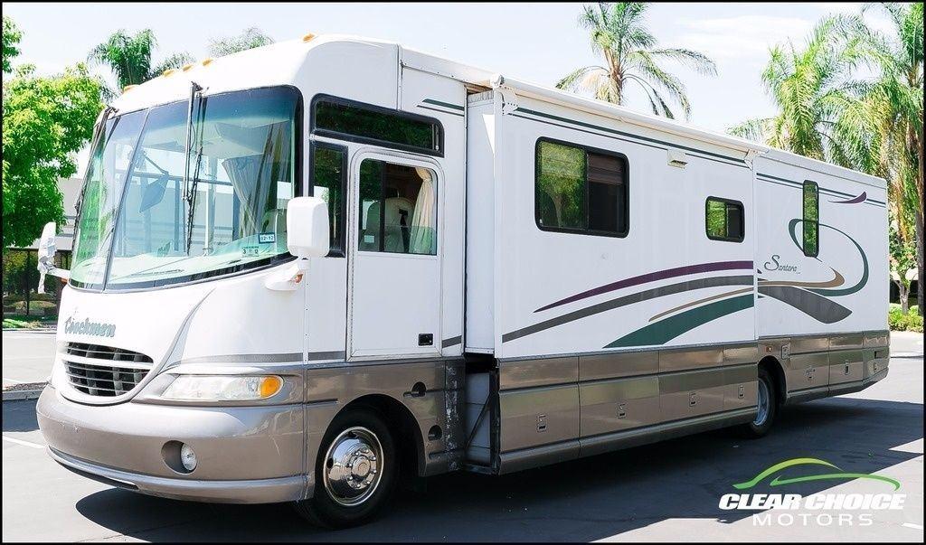 2000 Coachmen Santara 3602KS Two Slide RV Motorhome