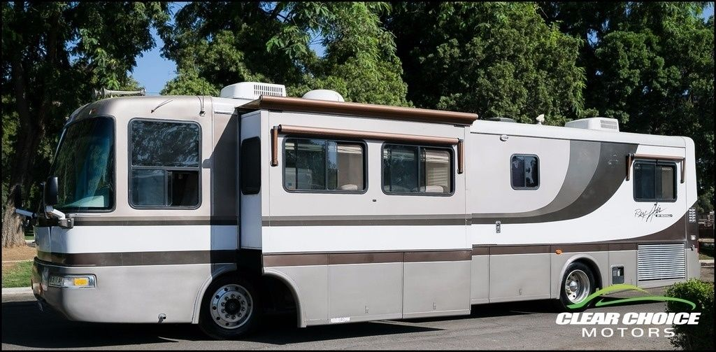 2003 Rexhall Rexair 3650DS 37′ 330hp Diesel Two Slide RV Motorhome for sale