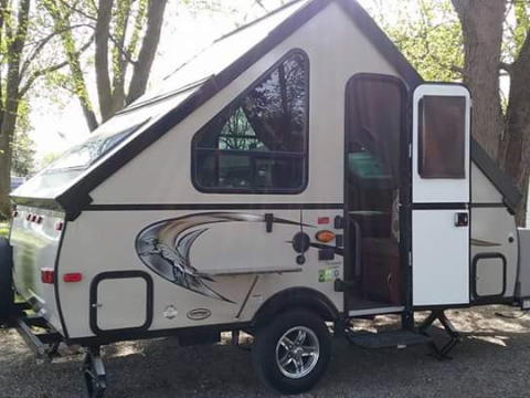 Folding 2015 Coachmen Clipper Aframe Camper for sale