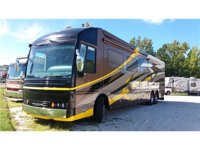 Class A 2007 American Coach Fleetwood American Heritage 45E camper for sale