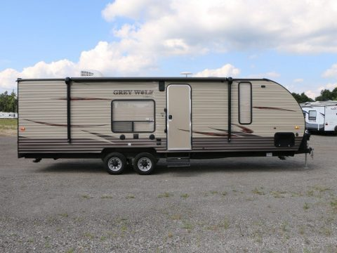 Fresh unused 2017 Forest River Grey Wolf 26RR Camper for sale