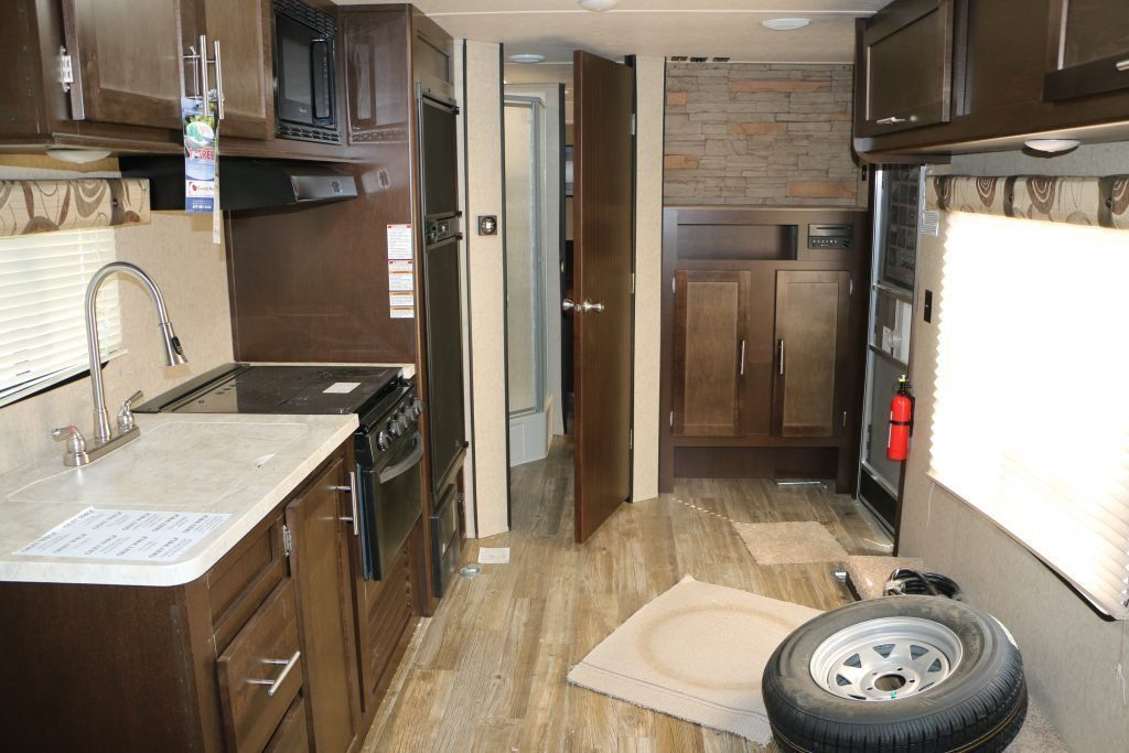 Fresh unused 2017 Forest River Grey Wolf 26RR Camper