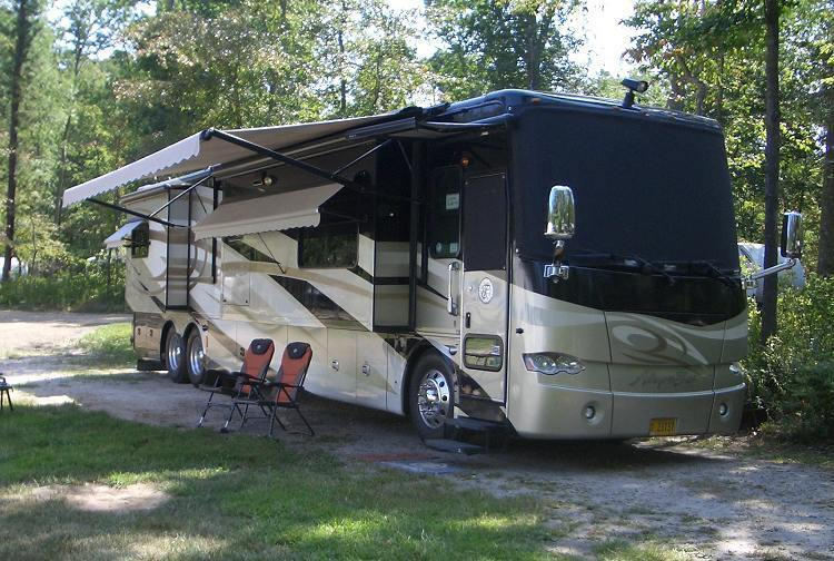 Tag axle 2010 Tiffin Allegro Bus camper