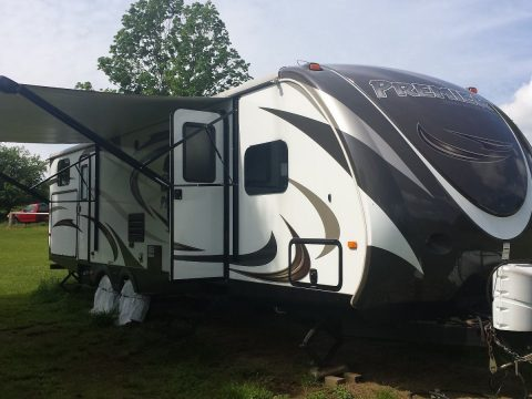 Upgraded bed 2015 Keystone camper trailer for sale
