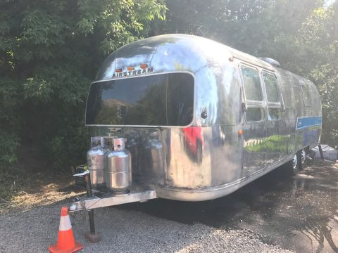 Vintage 1972 Airstream Ambassador camper trailer for sale