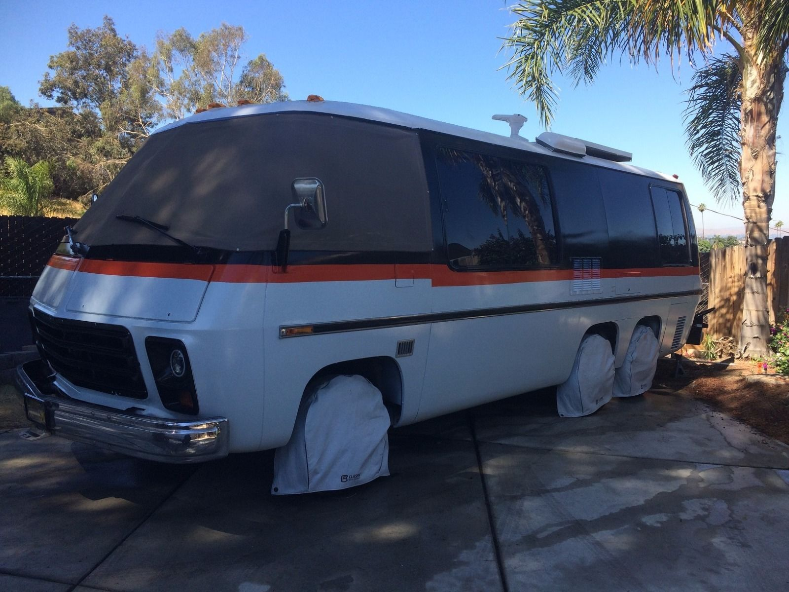 Vintage 1974 GMC CanyonLands camper for sale