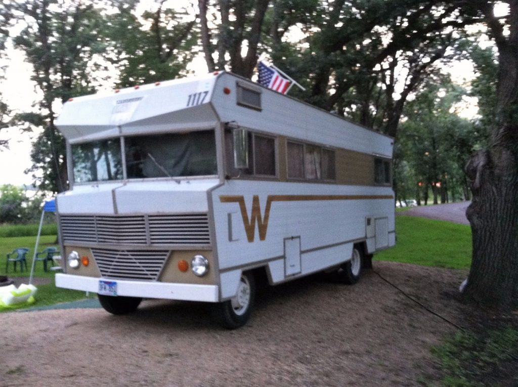 Vintage Classic 1969 Winnebago Camper For Sale