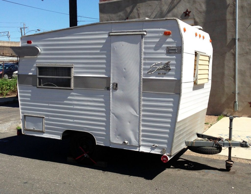 Vintage RV 1971 Shasta Compact camper