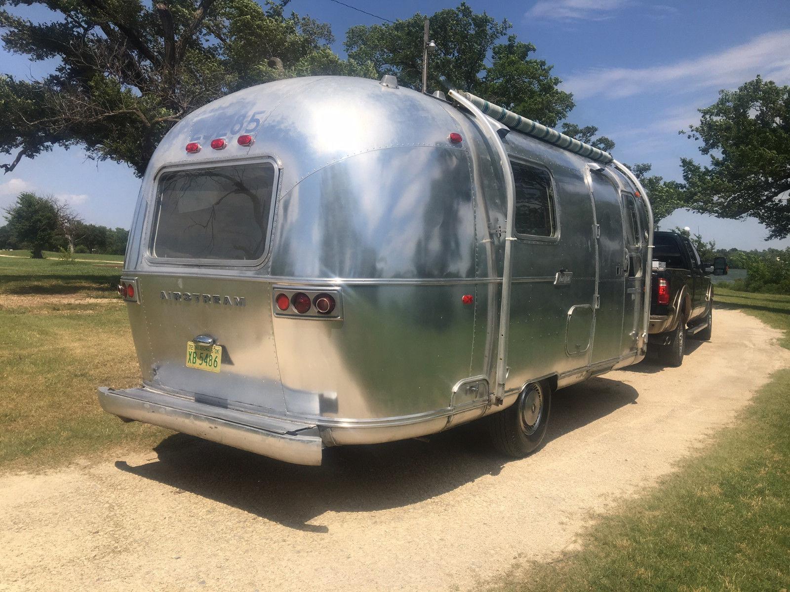 1972 Airstream Globetrotter camper trailer for sale