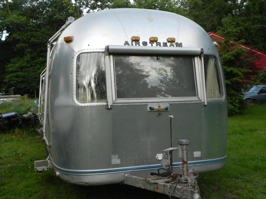 antique 1974 airstream land yacht camper trailer for sale. Black Bedroom Furniture Sets. Home Design Ideas