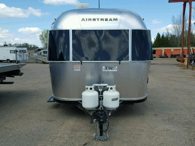 Damaged 2017 Airstream Bambi Sport 16FT camper trailer
