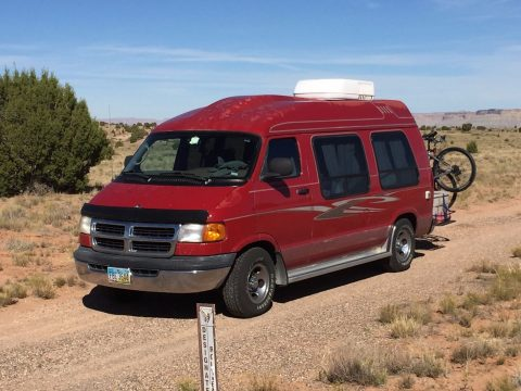 Older conversion 2001 Dodge Ram Class B RV camper for sale