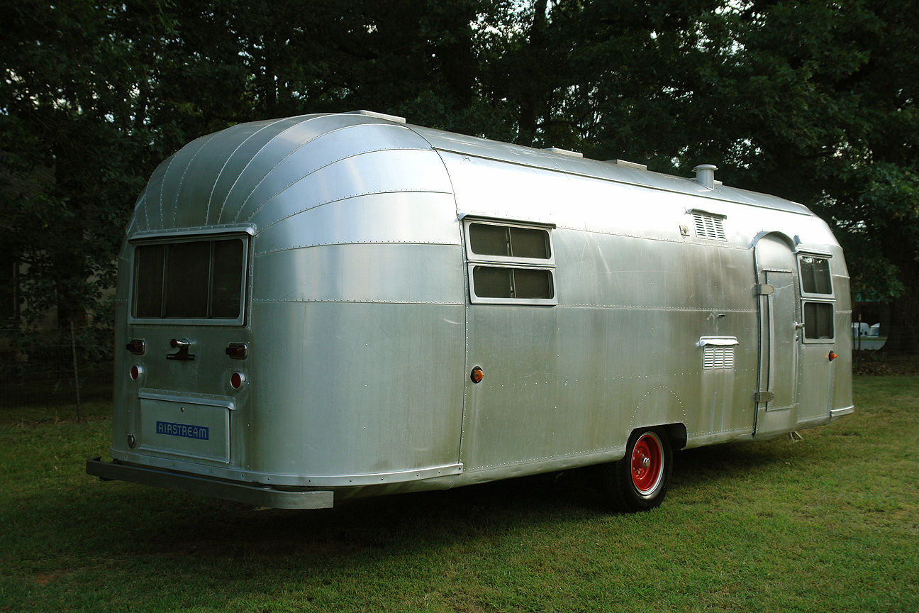 garaged 1953 Airstream CRUISER camper trailer