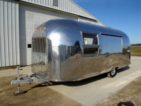new parts 1963 Airstream camper trailer for sale