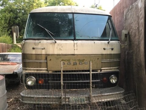 Vintage 1974 Dodge camper RV for sale