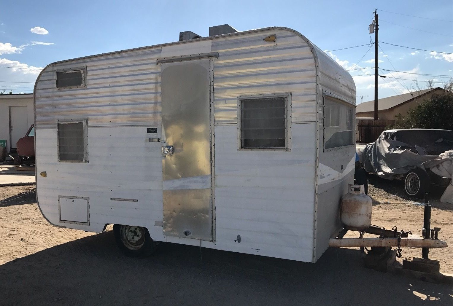 All Original 1964 Santa Fe Camper Trailer For Sale