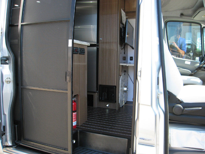 barely used 2017 Airstream Interstate EXT Grand Tour camper