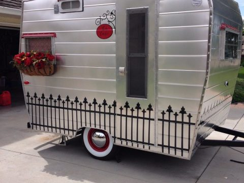 everything working 1963 Aristocrat Lil' Loafer camper trailer for sale