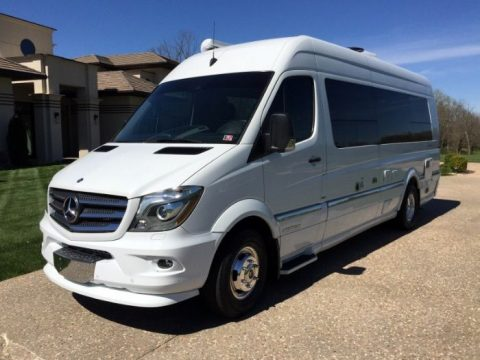 Extended 2014 Mercedes Sprinter Airstream EXT camper for sale