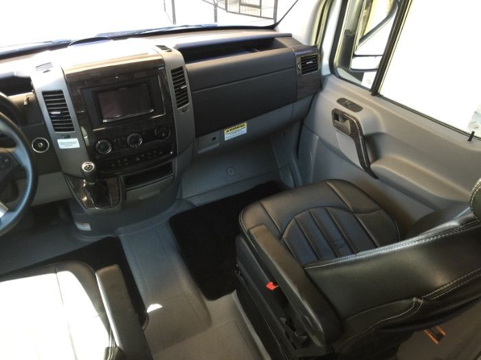 Extended 2014 Mercedes Sprinter Airstream EXT camper