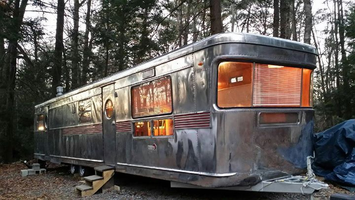 New Equipment 1954 Spartan Imperial Mansion Camper For Sale