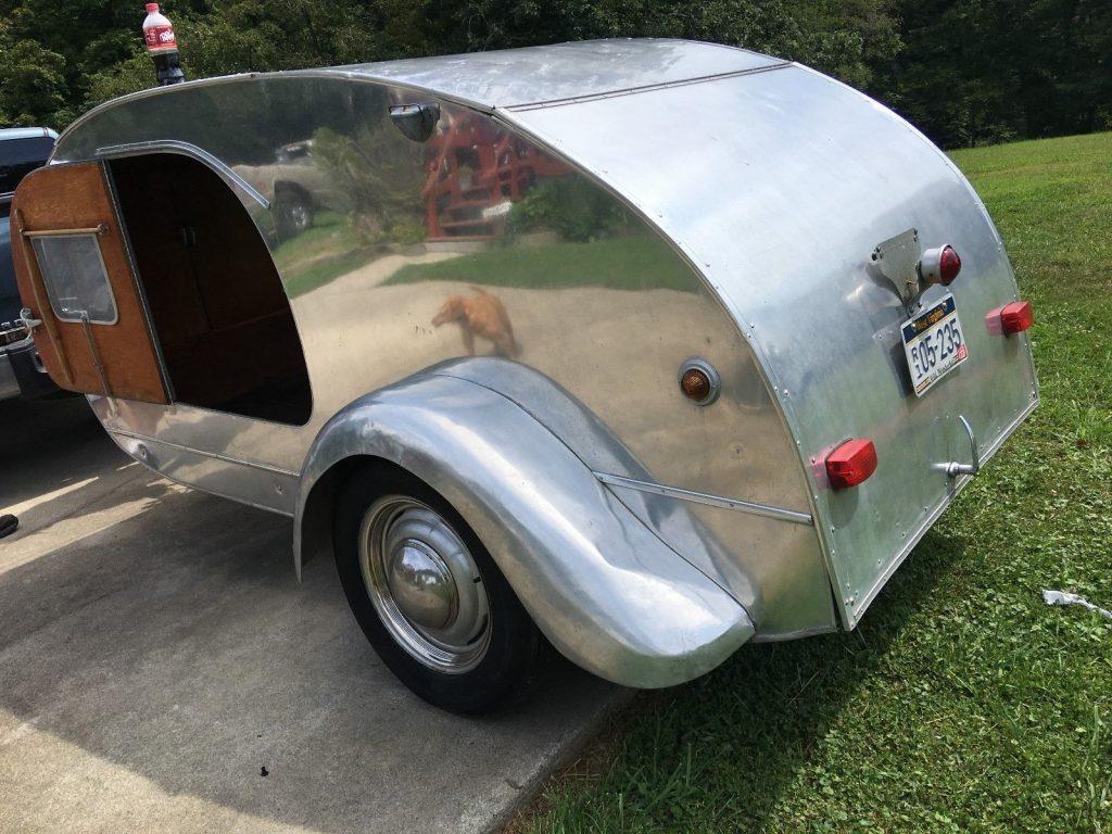 Rare 1947 KenSkill Teardrop Camper