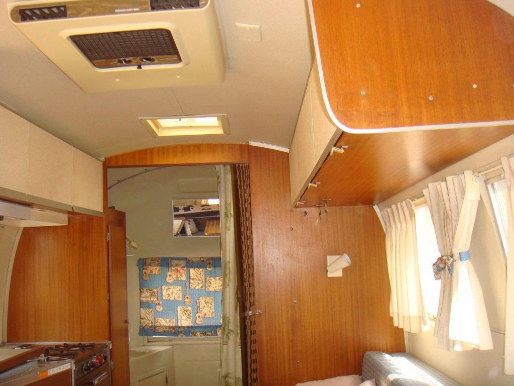 great shape 1965 Airstream Caravel camper trailer