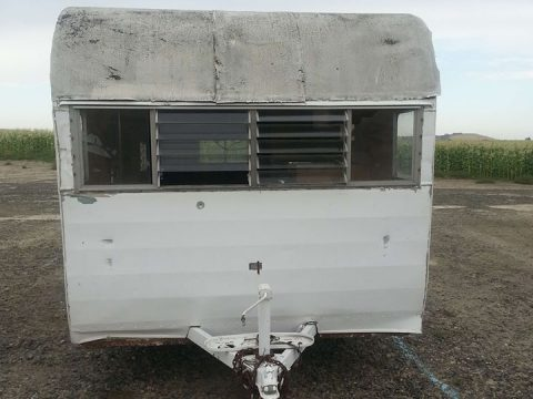 needs TLC 1963 Shasta camper trailer for sale