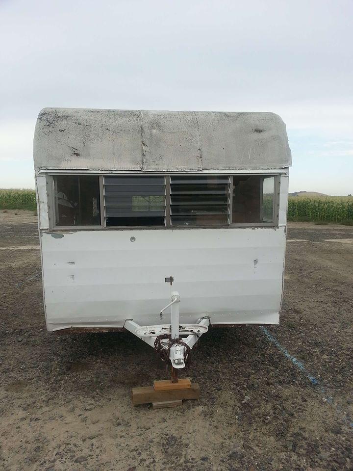needs TLC 1963 Shasta camper trailer for sale