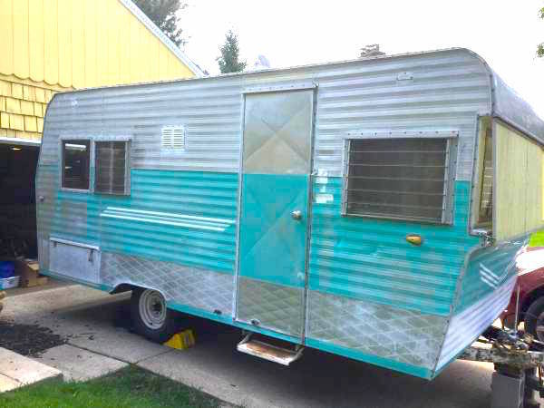 new parts 1961 Terry camper trailer for sale