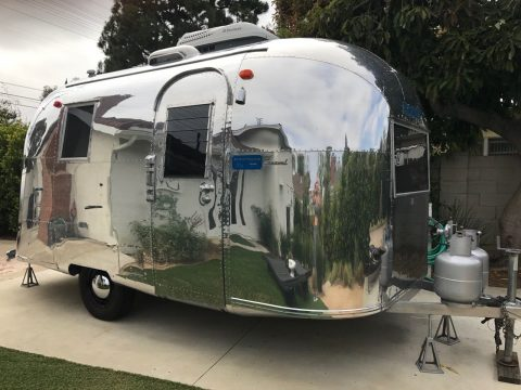 rare restored 1965 Airstream Carvel camper trailer for sale