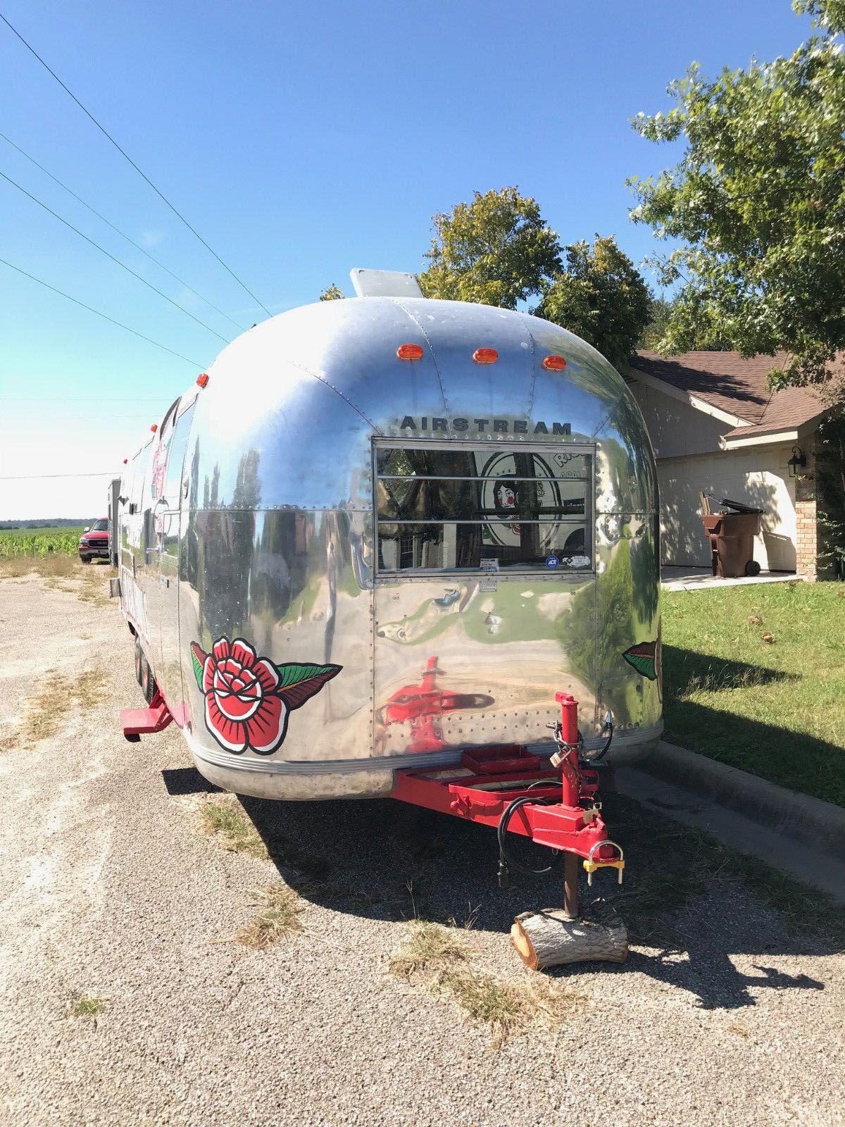 restored 1968 Airstream camper trailer for sale
