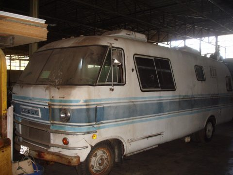 needs restoration 1970 Dodge travco motorhome for sale