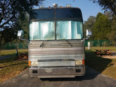 loaded 1993 Prevost Marathon XL40 camper for sale
