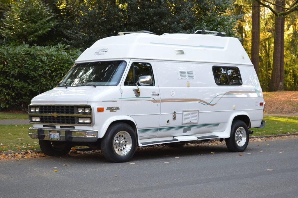 Low Miles 1996 Chevy Get Away Van Camper For Sale