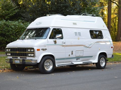 low miles 1996 Chevy GET AWAY VAN camper for sale