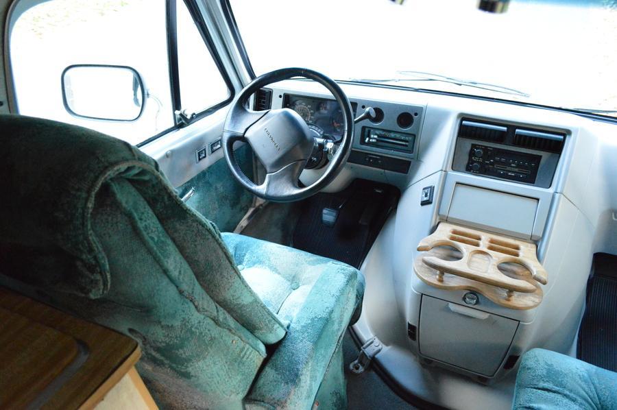 low miles 1996 Chevy GET AWAY VAN camper