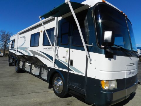 drives well 2001 Holiday Rambler Ambassador 36PBS camper for sale