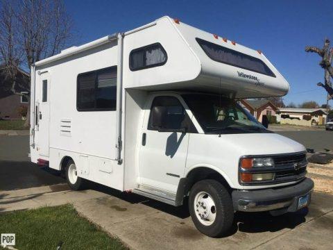 welll optioned 2002 Gulf Stream Yellowstone camper for sale