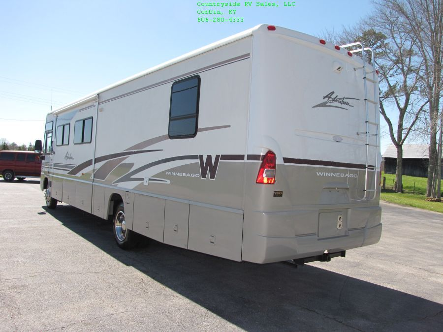 lots of storage 2004 Winnebago Adventurer 38G Class A camper