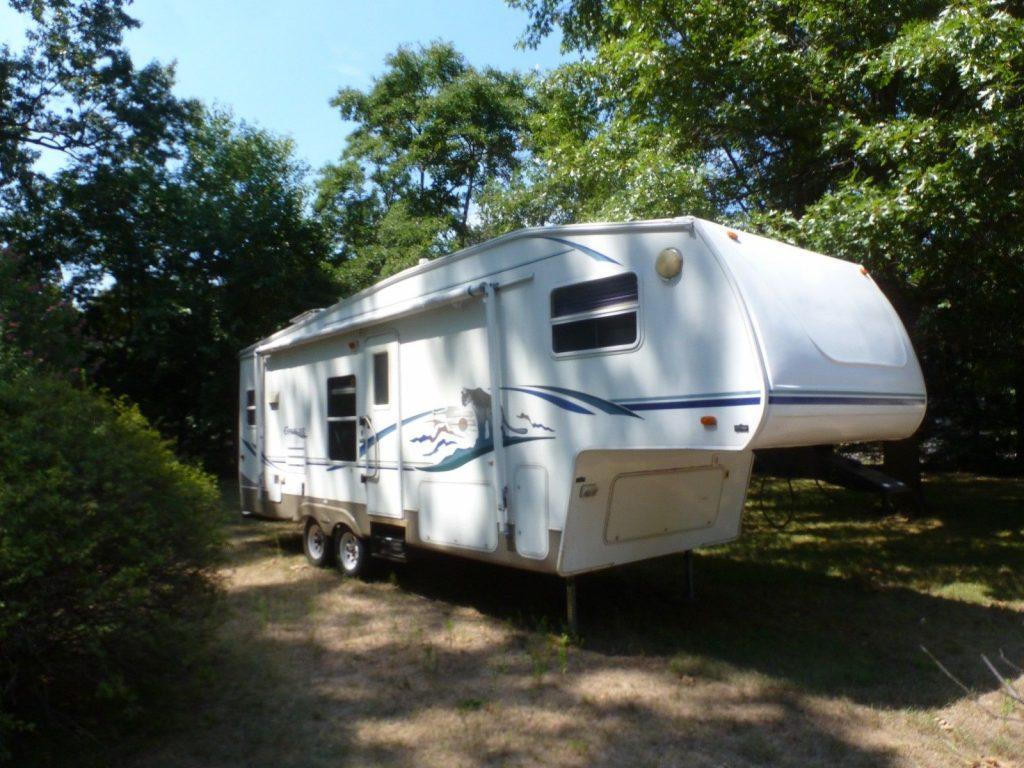 new brakes 2003 Keystone Cougar camper